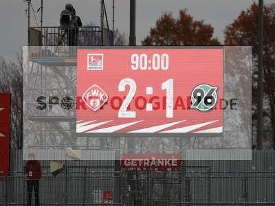 Fotos von FC Würzburger Kickers - Hannover 96 auf sportfotografie.de