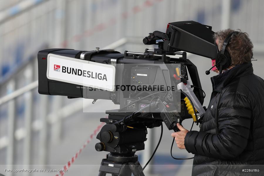 Symbolbild, Bundesliga, Übertragung, Sportcast, Livecast, Merck-Stadion, Darmstadt, 19.12.2020, DFL, sport, action, Fussball, Deutschland, Dezember 2020, Saison 2020/2021, 2. Bundesliga, FC Würzburger Kickers, SV Darmstadt 98 - Bild-ID: 2286186