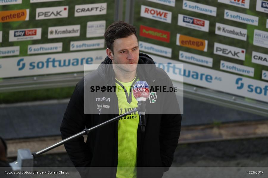 Interview, Michael Esser, Merck-Stadion, Darmstadt, 10.01.2021, DFL, sport, action, Fussball, Deutschland, Januar 2021, Saison 2020/2021, H96, D98, Bundesliga, 2. Bundesliga, Hannover 96, SV Darmstadt 98 - Bild-ID: 2286817