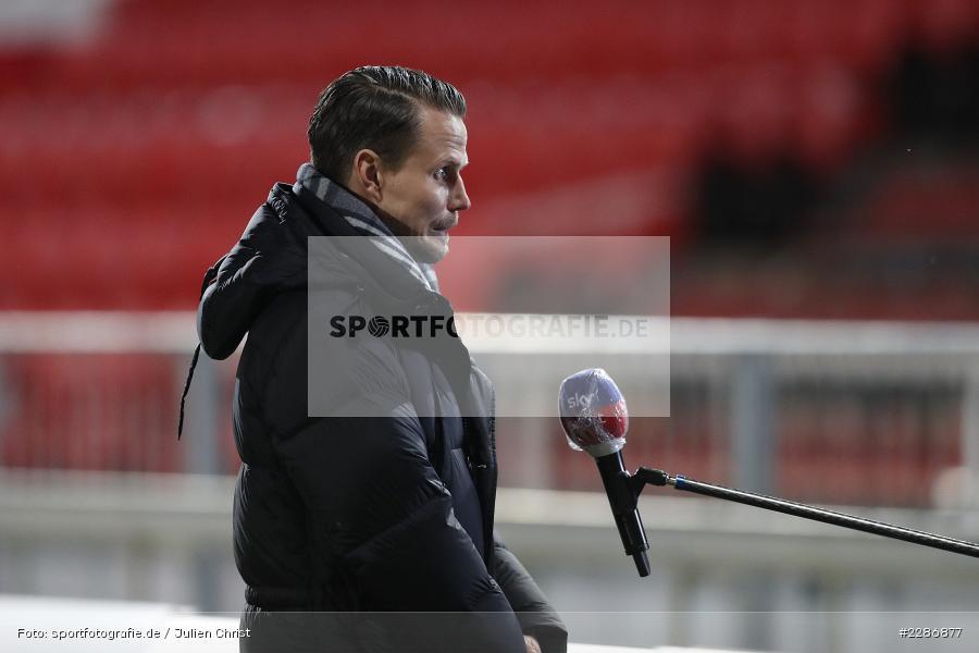 Portrait, Sebastian Schuppan, FLYERALARM Arena, Würzburg, 15.01.2021, DFL, sport, action, Fussball, Deutschland, Januar 2021, Saison 2020/2021, EBS, FWK, Bundesliga, 2. Bundesliga, Eintracht Braunschweig, FC Würzburger Kickers - Bild-ID: 2286877