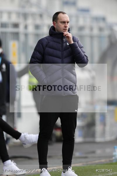 Trainer, Ole Werner, Merck-Stadion, Darmstadt, 24.01.2021, DFL, sport, action, Fussball, Deutschland, Januar 2021, Saison 2020/2021, KSV, D98, Bundesliga, 2. Bundesliga, Holstein Kiel, SV Darmstadt 98 - Bild-ID: 2287542
