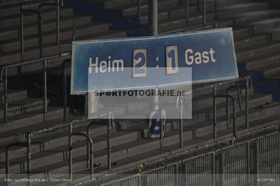Endstand, Anzeigetafel, Merck-Stadion, Darmstadt, 27.01.2021, DFL, sport, action, Fussball, Deutschland, Januar 2021, Saison 2020/2021, SVS, D98, Bundesliga, 2. Bundesliga, SV Sandhausen, SV Darmstadt 98 - Bild-ID: 2287789