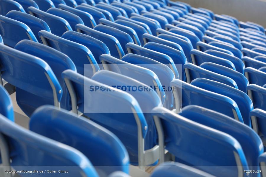 Geisterspiel, Leere Ränge, Merck-Stadion, Darmstadt, 14.02.2021, DFL, sport, action, Fussball, Deutschland, Februar 2021, Saison 2020/2021, OSN, D98, Bundesliga, 2. Bundesliga, VfL Osnabrück, SV Darmstadt 98 - Bild-ID: 2288629