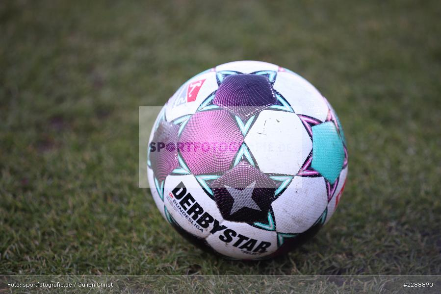 Derbystar, Symbolbild, FLYERALARM Arena, Würzburg, 21.02.2021, DFL, sport, action, Fussball, Deutschland, Februar 2021, Saison 2020/2021, HSV, FWK, Bundesliga, 2. Bundesliga, Hamburger SV, FC Würzburger Kickers - Bild-ID: 2288890