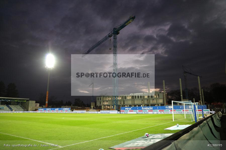 Merck-Stadion, Darmstadt, 26.02.2021, DFL, sport, action, Fussball, Deutschland, Februar 2021, Saison 2020/2021, KSC, SVD, Bundesliga, 2. Bundesliga, Karlsruher SC, SV Darmstadt 98 - Bild-ID: 2288995
