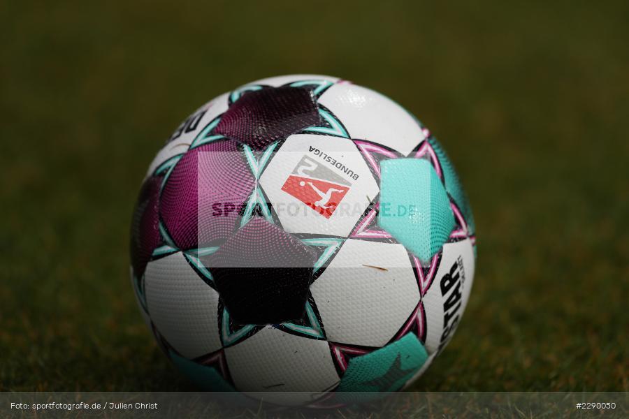 Rasen, Ball, Symbolbild, Merck-Stadion, Darmstadt, 13.03.2021, DFL, sport, action, Fussball, Deutschland, März 2021, Saison 2020/2021, FCE, D98, Bundesliga, 2. Bundesliga, FC Erzgebirge Aue, SV Darmstadt 98 - Bild-ID: 2290050