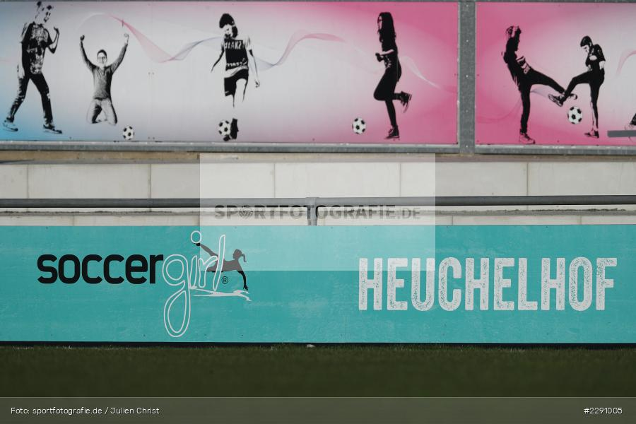 Heuchelhof, girl, Bande, Soccergirl Sportpark, Würzburg, 31.03.2021, DFB, sport, action, Fussball, Deutschland, März 2021, Saison 2020/2021, SGA, FWK, Frauen, Süd, 2. Frauen-Bundesliga, SG 99 Andernach, FC Würzburger Kickers - Bild-ID: 2291005