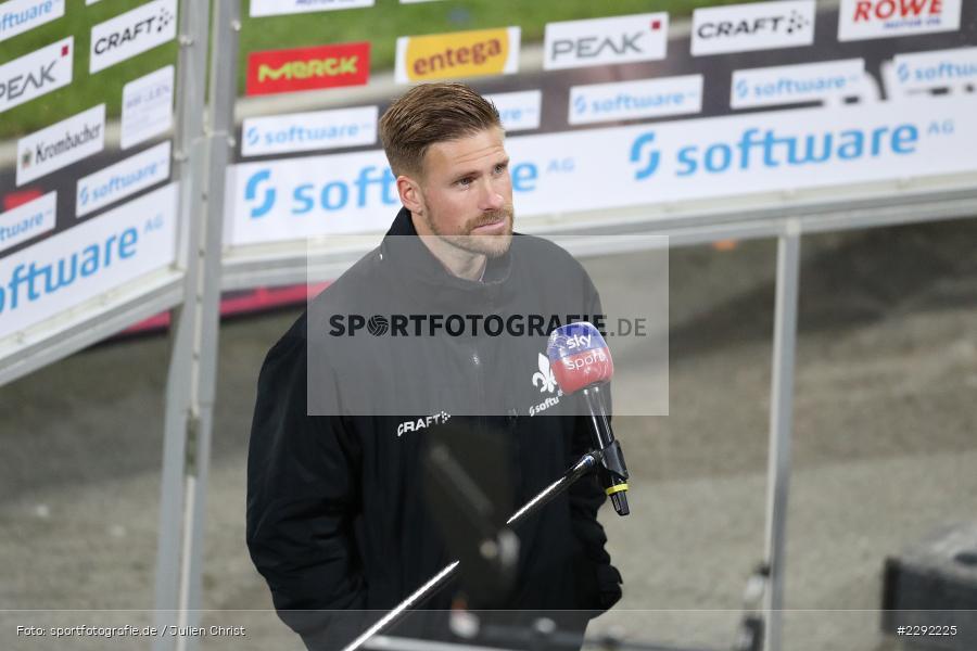 April 2021, Fussball, Deutschland, DFL, sky sport, Interview, Tobias Kempe, SGF, SVD, 2. Bundesliga, SV Darmstadt 98 - Bild-ID: 2292225