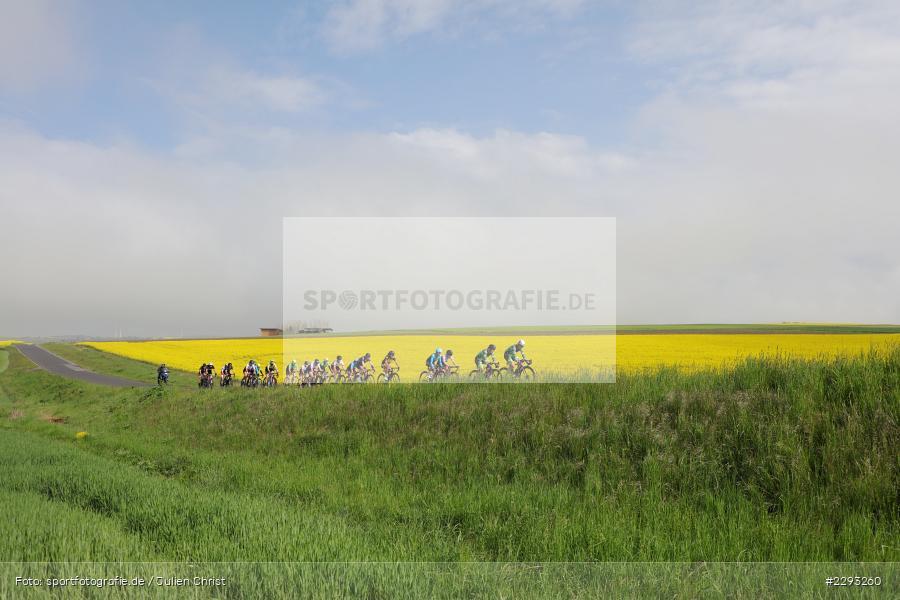 Übersicht, Feature, Billingshaeuser Strasse, 13.05.2021, sport, action, Cycle, Deutschland, Mai 2021, Karbach, MSP, 33. Main-Spessart-Rundfahrt, Radrennen, Radsport, Rad - Bild-ID: 2293260
