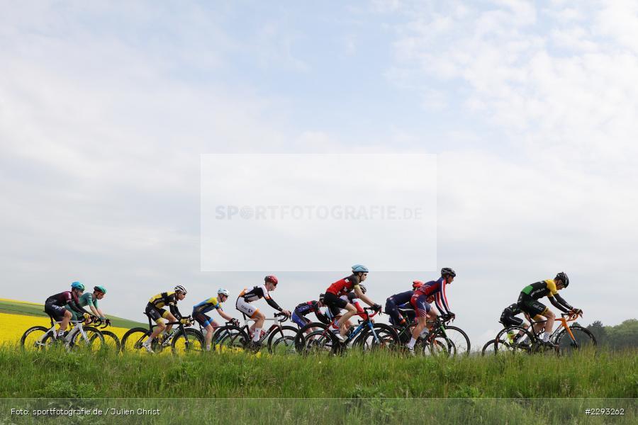 Billingshaeuser Strasse, 13.05.2021, sport, action, Cycle, Deutschland, Mai 2021, Karbach, MSP, 33. Main-Spessart-Rundfahrt, Radrennen, Radsport, Rad - Bild-ID: 2293262