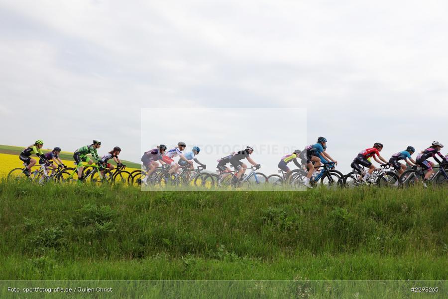Billingshaeuser Strasse, 13.05.2021, sport, action, Cycle, Deutschland, Mai 2021, Karbach, MSP, 33. Main-Spessart-Rundfahrt, Radrennen, Radsport, Rad - Bild-ID: 2293265