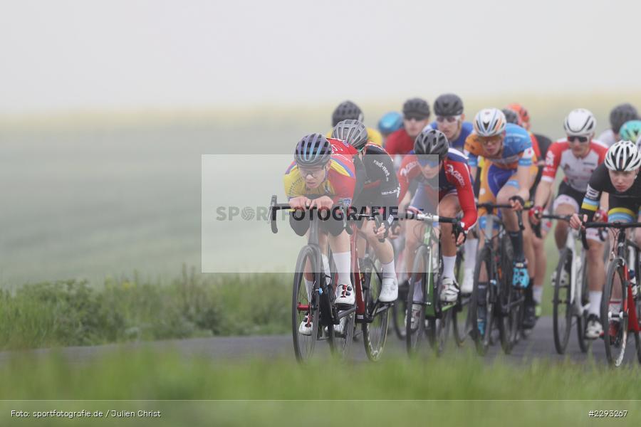 Billingshaeuser Strasse, 13.05.2021, sport, action, Cycle, Deutschland, Mai 2021, Karbach, MSP, 33. Main-Spessart-Rundfahrt, Radrennen, Radsport, Rad - Bild-ID: 2293267
