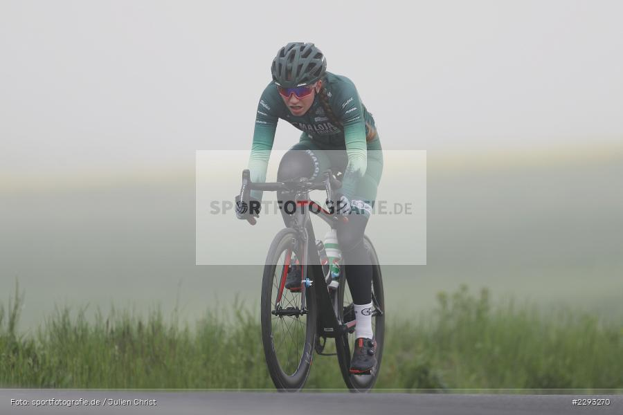 Hannah Fandel, Billingshaeuser Strasse, 13.05.2021, sport, action, Cycle, Deutschland, Mai 2021, Karbach, MSP, 33. Main-Spessart-Rundfahrt, Radrennen, Radsport, Rad - Bild-ID: 2293270