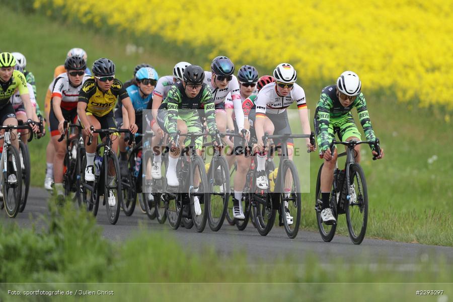 Billingshaeuser Strasse, 13.05.2021, sport, action, Cycle, Deutschland, Mai 2021, Karbach, MSP, 33. Main-Spessart-Rundfahrt, Radrennen, Radsport, Rad - Bild-ID: 2293297