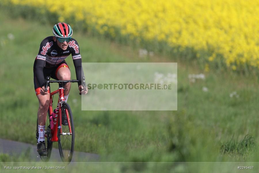 Billingshaeuser Strasse, 13.05.2021, sport, action, Cycle, Deutschland, Mai 2021, Karbach, MSP, 33. Main-Spessart-Rundfahrt, Radrennen, Radsport, Rad - Bild-ID: 2293437