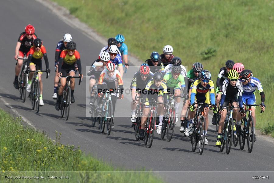 Billingshaeuser Strasse, 13.05.2021, sport, action, Cycle, Deutschland, Mai 2021, Karbach, MSP, 33. Main-Spessart-Rundfahrt, Radrennen, Radsport, Rad - Bild-ID: 2293471