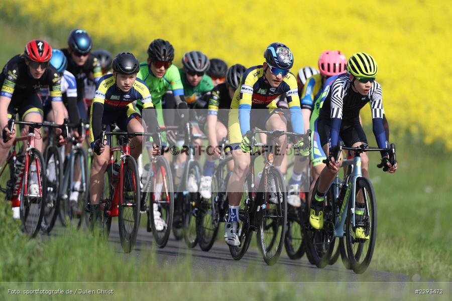 Billingshaeuser Strasse, 13.05.2021, sport, action, Cycle, Deutschland, Mai 2021, Karbach, MSP, 33. Main-Spessart-Rundfahrt, Radrennen, Radsport, Rad - Bild-ID: 2293472