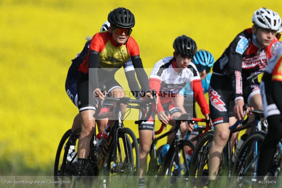 Billingshaeuser Strasse, 13.05.2021, sport, action, Cycle, Deutschland, Mai 2021, Karbach, MSP, 33. Main-Spessart-Rundfahrt, Radrennen, Radsport, Rad - Bild-ID: 2293474