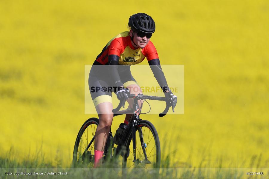 Billingshaeuser Strasse, 13.05.2021, sport, action, Cycle, Deutschland, Mai 2021, Karbach, MSP, 33. Main-Spessart-Rundfahrt, Radrennen, Radsport, Rad - Bild-ID: 2293488