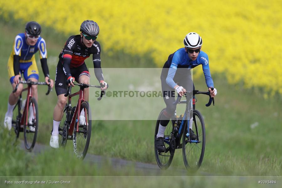 Billingshaeuser Strasse, 13.05.2021, sport, action, Cycle, Deutschland, Mai 2021, Karbach, MSP, 33. Main-Spessart-Rundfahrt, Radrennen, Radsport, Rad - Bild-ID: 2293494