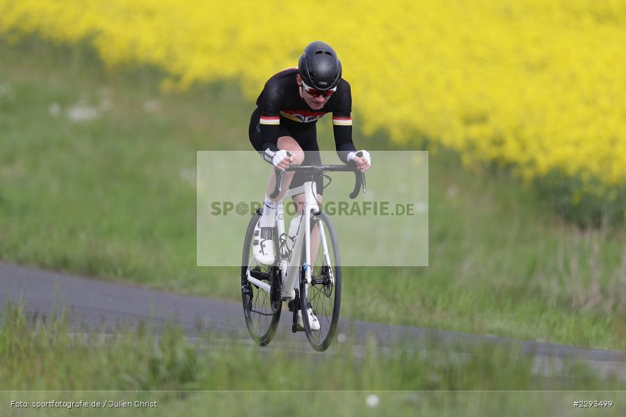 Billingshaeuser Strasse, 13.05.2021, sport, action, Cycle, Deutschland, Mai 2021, Karbach, MSP, 33. Main-Spessart-Rundfahrt, Radrennen, Radsport, Rad - Bild-ID: 2293499