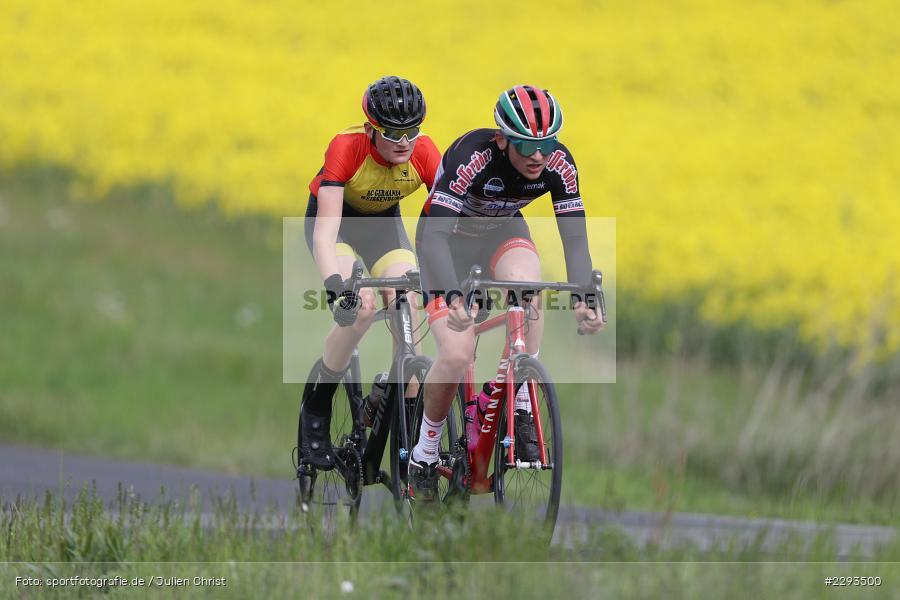 Billingshaeuser Strasse, 13.05.2021, sport, action, Cycle, Deutschland, Mai 2021, Karbach, MSP, 33. Main-Spessart-Rundfahrt, Radrennen, Radsport, Rad - Bild-ID: 2293500