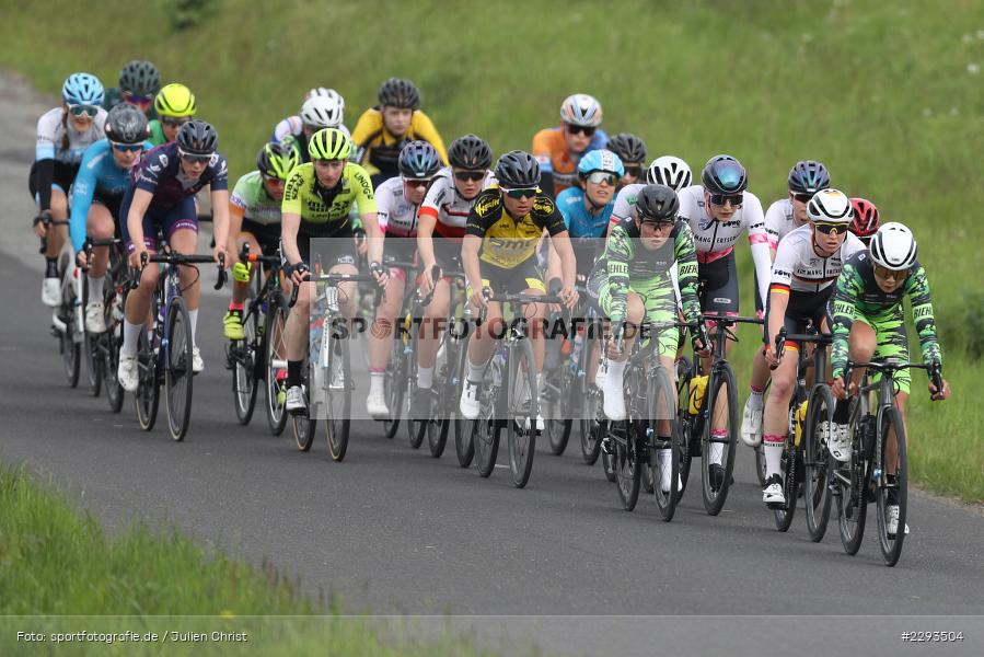 Billingshaeuser Strasse, 13.05.2021, sport, action, Cycle, Deutschland, Mai 2021, Karbach, MSP, 33. Main-Spessart-Rundfahrt, Radrennen, Radsport, Rad - Bild-ID: 2293504