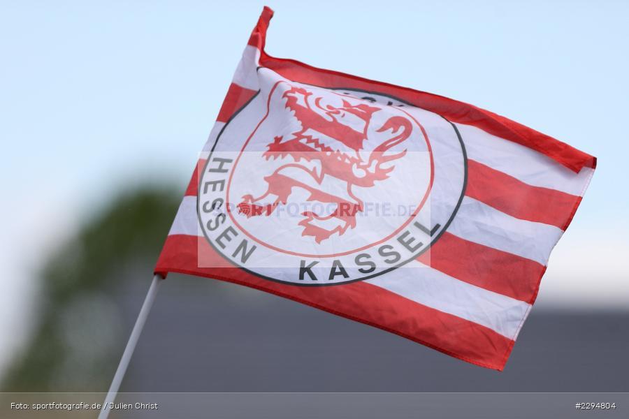 Fahne, Main-Echo Arena, Alzenau, 29.05.2021, DFB, sport, action, Fussball, Deutschland, Mai 2021, Saison 2020/2021, KSV, FCB, 4. Liga, Regionalliga, Regionalliga Südwest, KSV Hessen Kassel, FC Bayern Alzenau - Bild-ID: 2294804