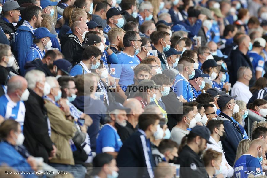 Fans, Merck-Stadion, Darmstadt, 28.08.2021, DFL, sport, action, Fussball, Deutschland, August 2021, Saison 2021/2022, 2. Bundesliga, H96, SVD, Hannover 96, SV Darmstadt 98 - Bild-ID: 2304293