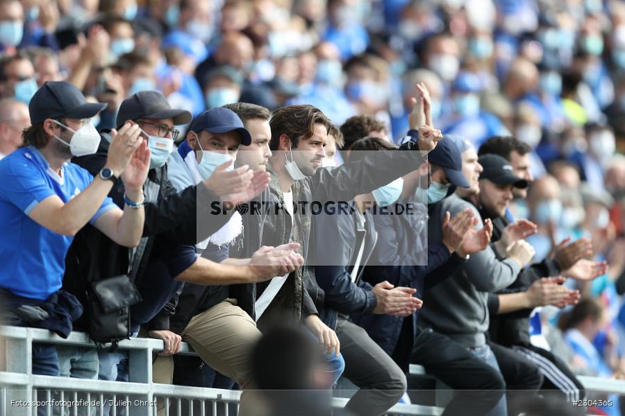 Fans, Merck-Stadion, Darmstadt, 28.08.2021, DFL, sport, action, Fussball, Deutschland, August 2021, Saison 2021/2022, 2. Bundesliga, H96, SVD, Hannover 96, SV Darmstadt 98 - Bild-ID: 2304365