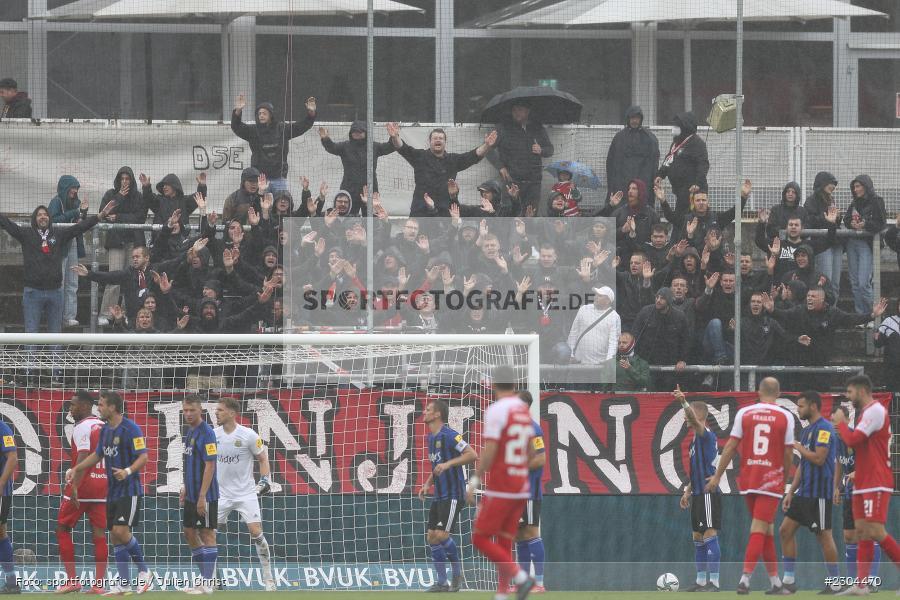 Fans, FLYERALARM Arena, Würzburg, 29.08.2021, DFL, sport, action, Fussball, Deutschland, August 2021, Saison 2021/2022, FCS, FWK, 3. Liga, 1. FC Saarbrücken, FC Würzburger Kickers - Bild-ID: 2304470