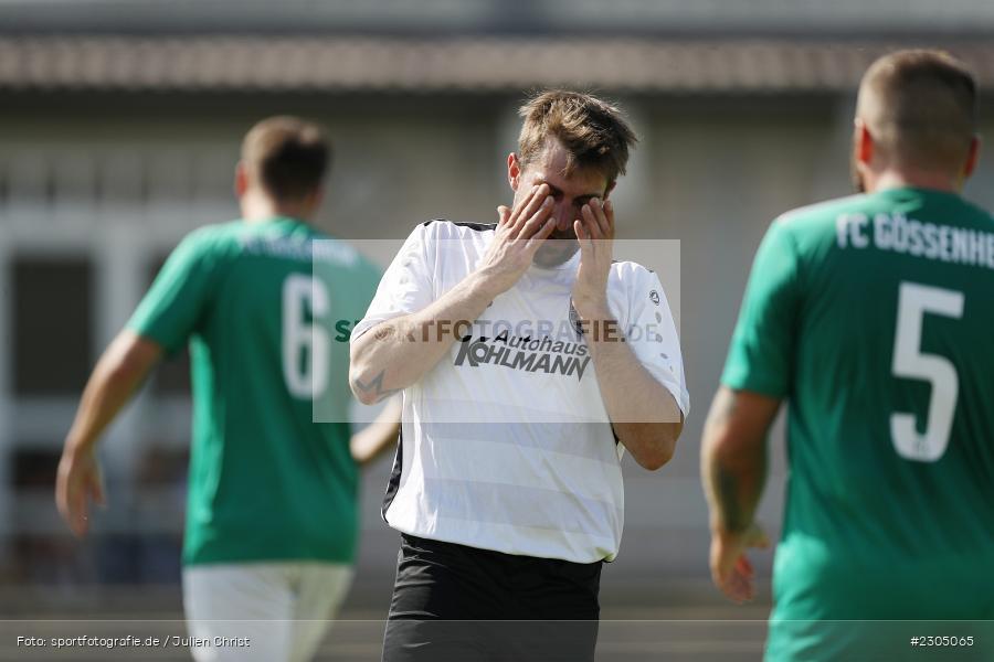 Johannes Gold, Sportplatz, Gössenheim, 05.09.2021, BFV, sport, action, Fussball, Deutschland, September 2021, Saison 2021/2022, Kreisliga Würzburg, TSV Karlburg II, FC Gössenheim - Bild-ID: 2305065