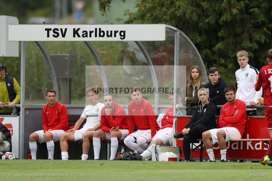 Andreas Rösch, Sportplatz, Karlburg, 19.09.2021, BFV, sport, action, Fussball, Deutschland, September 2021, Saison 2021/2022, SCF, TSV, Bayernliga Nord, 1. SC Feucht, TSV Karlburg - Bild-ID: 2307395