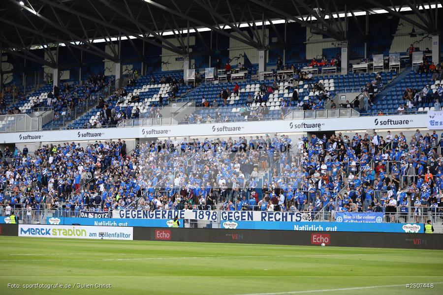 Banner, Transparent, Merck-Stadion, Darmstadt, 19.09.2021, DFL, sport, action, Fussball, Deutschland, September 2021, Saison 2021/2022, SGD, SVD, 2. Bundesliga, SG Dynamo Dresden, SV Darmstadt 98 - Bild-ID: 2307448
