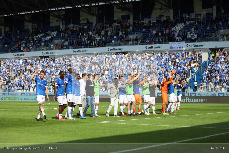 Fans, Mannschaft, Merck-Stadion, Darmstadt, 19.09.2021, DFL, sport, action, Fussball, Deutschland, September 2021, Saison 2021/2022, SGD, SVD, 2. Bundesliga, SG Dynamo Dresden, SV Darmstadt 98 - Bild-ID: 2307614